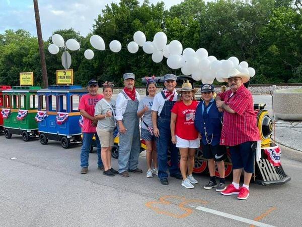 Wattman Mini Express Li'l Grande Trains, Irving Texas