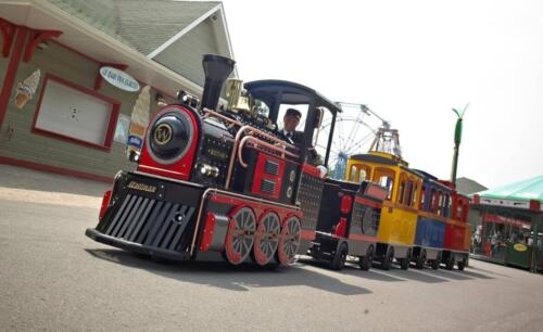 Mini Express black locomotive