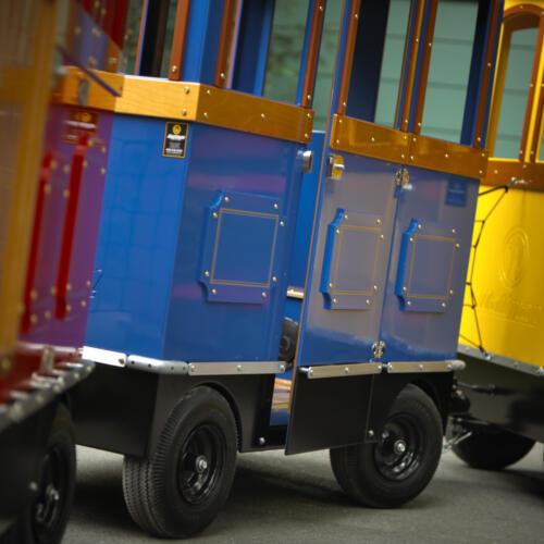 Wagons Wattman trains