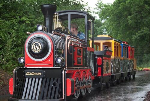 Mini Express red locomotive